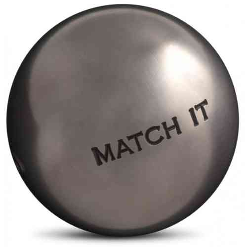OBUT Match 115 /Boccia-Kugeln IT Edelstahl 71/mm/